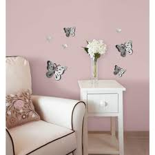 mirror art butterfly wall decal mirror art butterfly wall decal