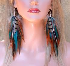 how to make feather earrings with how to make 3 different kinds of earrings aelida