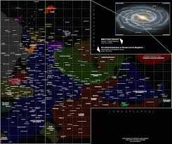 Star Maps Star Trek Why Is Federation Space Divided Science Fiction