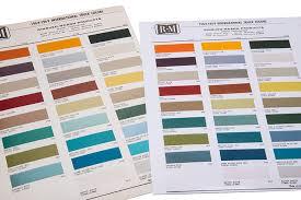 paint chip chart for ihc trucks u002765 u002769 international scout