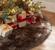 fur christmas best 20 faux fur tree skirt ideas on fur tree