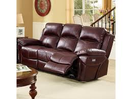 new classic warner casual power reclining sofa with pillow arms