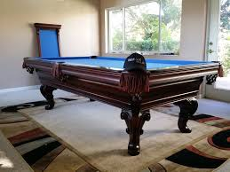 Championship Billiard Felt Colors Move 8 U0027 Olhausen Pool Table Delivery With New Championship Electric