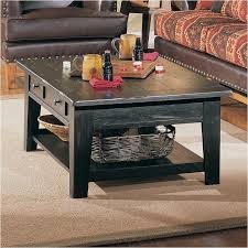 Broyhill Living Room Furniture 3397 01b Broyhill Furniture Rectangular Cocktail Table Black
