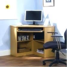 Small Corner Desks Impressive Small Corner Office Desk Freedom To In Small Corner