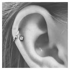 hoop cartilage piercing the 25 best cartilage piercings ideas on ear