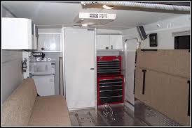 V Nose Enclosed Trailer Cabinets by Aluminum V Nose Trailer Cabinets Cabinet Home Decorating Ideas