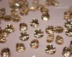 gems for table decorations 1000pcs wedding 1 3 ct table scatter crystal confetti