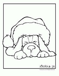 100 christmas puppies coloring pages christmas animal