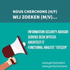 Service Desk Officer Gialbelgium On Gial Bruxelles Information