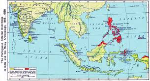 East And Southeast Asia Map by History Maps