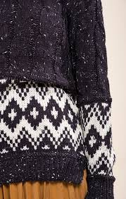 tribal sweater tribal pattern sweater top moon river