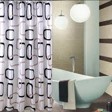 bathroom lovely extra long shower curtains for bathroom