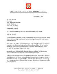 letter from csi to a e networks re amy scobee
