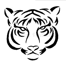 simple tiger tattoo designs