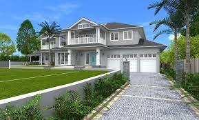 home architecture design architect design 3d concept hamptons style st ives