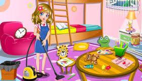 jeux de nettoyage de chambre jeu ranger la maison de julie gratuit jeux 2 filles
