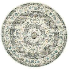 Circular Area Rugs Circular Area Rugs Rug Evoke Gray Gold 5 Ft 1 In X Pattern