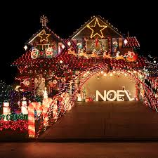 neighborhoods with the most outrageous lights in every