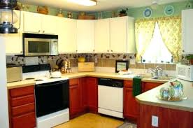 kitchen cabinets decorating ideas top of kitchen cabinet decorating ideas best decor above
