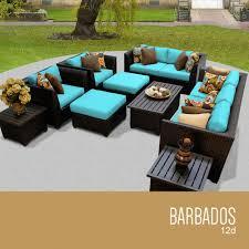 Resin Wicker Patio Furniture - tk classics barbados collection outdoor wicker patio furniture set