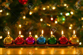 ornament candles rainforest islands ferry