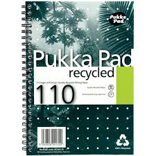 writing paper uk pukka pad business pad recycled notebook a5 package 3 each pukka pad business pad recycled notebook a5 package 3 each