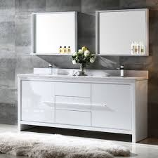 Vanities For Bathroom by Fresca Bath Fvn8172wh Allier 72
