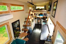 homes on wheels interior tiny house on wheels with entertaining space interior