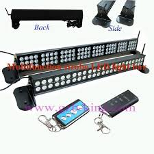 multifunction strobe led light bar with strong magnet without