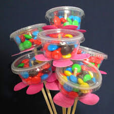 i made these candy bouquets for my may day baskets i bought the