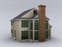 modern building a small house 3d model download free 3d models