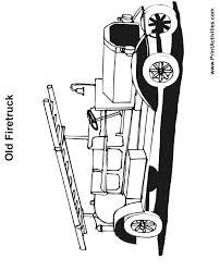 firetruck coloring firetruck