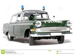 opel kapitan 1961 german opel kapitän police scale car 2 stock photo image