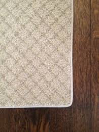 Bound Area Rugs Diy Bind A Carpet Remnant To Make A Custom Shaped Area Rug