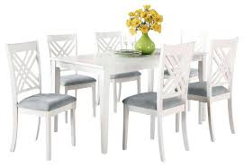 white wood dining table and chairs white dining tables amazing