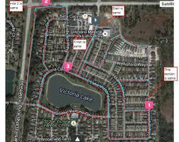 Map Of Deland Florida by Victoria Park 5kfinal Mile Race Management