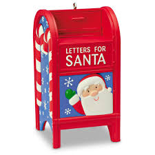 letters to santa mailbox letters for santa mailbox ornament keepsake ornaments hallmark