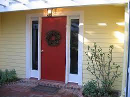 bm heritage red front door glidden jonquil yellow flickr