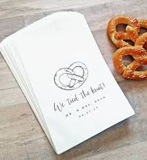 pretzel bags for favors 210 best favors images on marriage wedding stuff and
