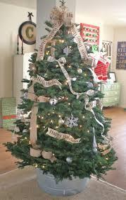 my burlap bows tree