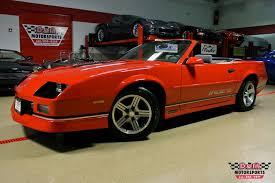 1989 chevy camaro iroc 1989 chevrolet camaro iroc z convertible stock m5409 for sale