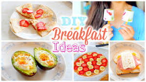 diy easy and quick back to breakfast ideas healthy