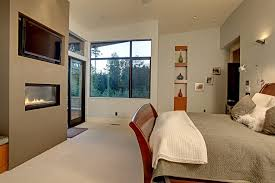 Recessed Wall Niche Decorating Ideas Recessed Tv Niche Ideas Bedroom Contemporary With Carpeting Square
