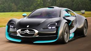 citroen sports car citroen survolt gif