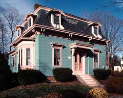houses massachusetts the mania for mansard roofs old house restoration products
