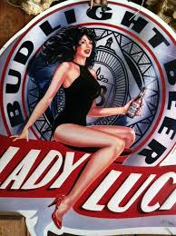 bud light tin signs 1991 lady luck bud light beer metal sign collectibles in dublin