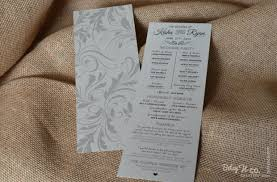 country wedding programs swirlscountryweddingprogram 620x407 jpg