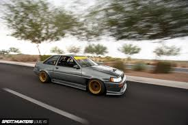 lowered cars and speed bumps this is not a purist u0027s car speedhunters