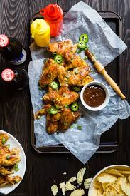bbq paleo chicken wings in the slow cooker food faith fitness